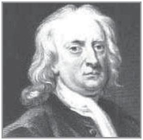 Isaac Newton (Penemu Hukum Newton)