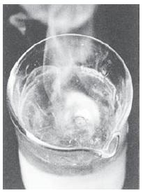 Ciri reaksi kimia dengan timbul perubahan suhu