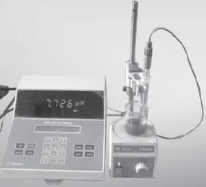 PH meter Untuk indikator asam basa garam