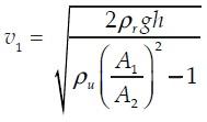 Persamaan Penerapan Asas Bernoulli 3