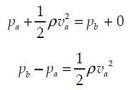 Persamaan Penerapan Asas Bernoulli 4