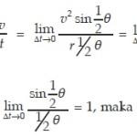 persamaan percepatan